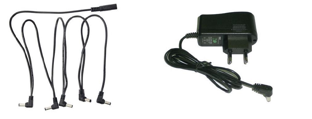 POWERSOURCE1 - ALIMENTADOR PARA PEDALES ASHTON 1 AMP. CON CABLES DAISY