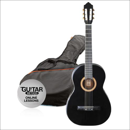 SPCG14BK - Pack Guitarra Clasica 1/4 Spcg14BK - Ashton