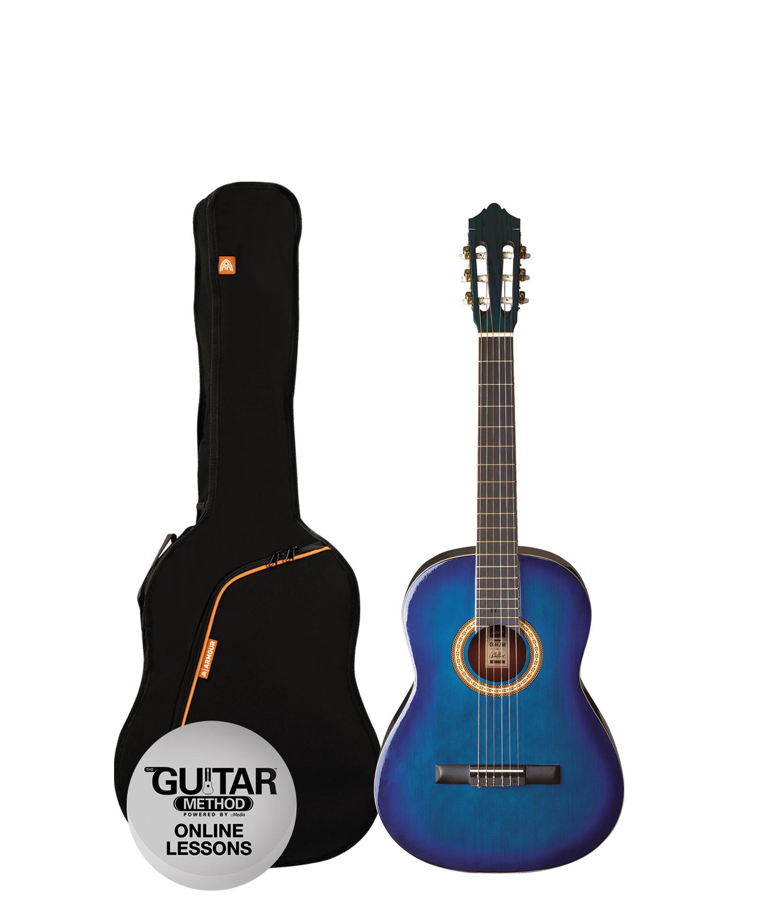 SPCG14TBB - Pack Guitarra Clasica 1/2 Spcg14TBB AZUL - Ashton
