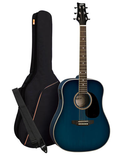 SPD25TBB - Pack Guitarra Acustica Dreadnought Azul - Ashton MODELO ANTIGUO ( OFERTA)