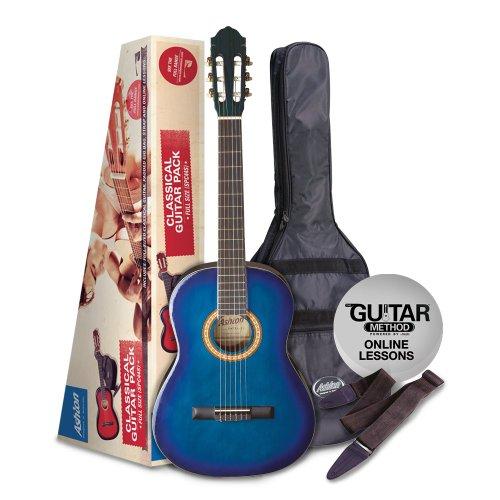 SPCG34TBB Pack Guitarra Clasica CADETE 3/4 Azul