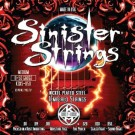 KQXS-1150 JUEGOS DE CUERDAS GUITARRA ELECTRICA KERLY USA SINISTER NICKEL STRINGS LOW TUNE MED 11-50