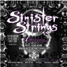 KQXS7-1060 JUEGOS DE CUERDAS GUITARRA ELECTRICA KERLY USA SINISTER 7 NICKEL STRINGS CUSTOM MED 10-60