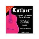 Juego Cuerda Guitarra Luthier 20