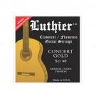 Juego Cuerda Guitarra Luthier 40