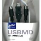 Cable Midi - Usb USBMD - Ashton