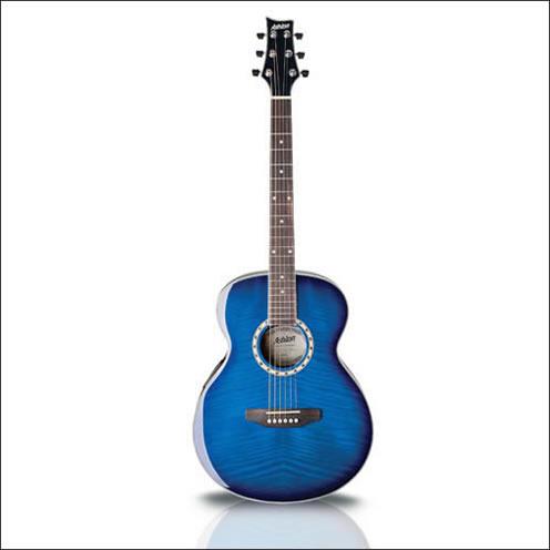 SL29WRS - Guitarra Acustica Tipo Apx Rojo Vino Con Afinador - Ashton