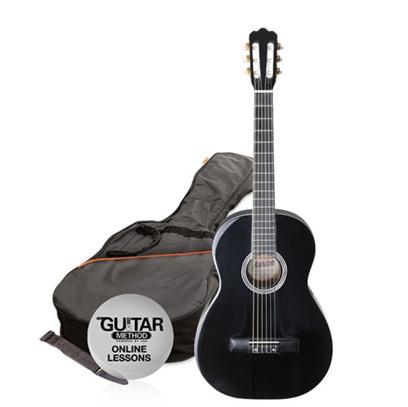 SPCG44BK - Pack Guitarra Clasica 4/4 Negra - Ashton