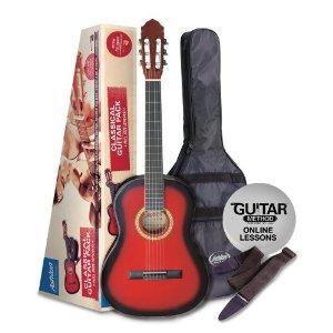 SPCG12TRB - Pack Guitarra Clasica 1/2 Roja Oferta